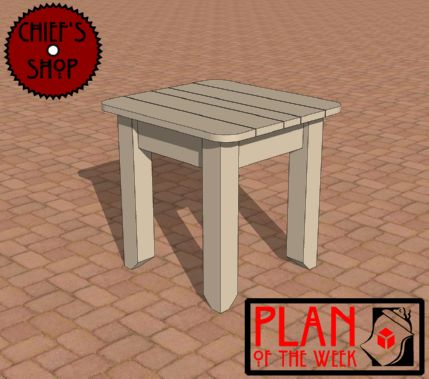 Plan of the Week  Patio Side Table189 best Chief s Shop Project Plans images on Pinterest   Woodwork  . Patio Side Table Woodworking Plans. Home Design Ideas