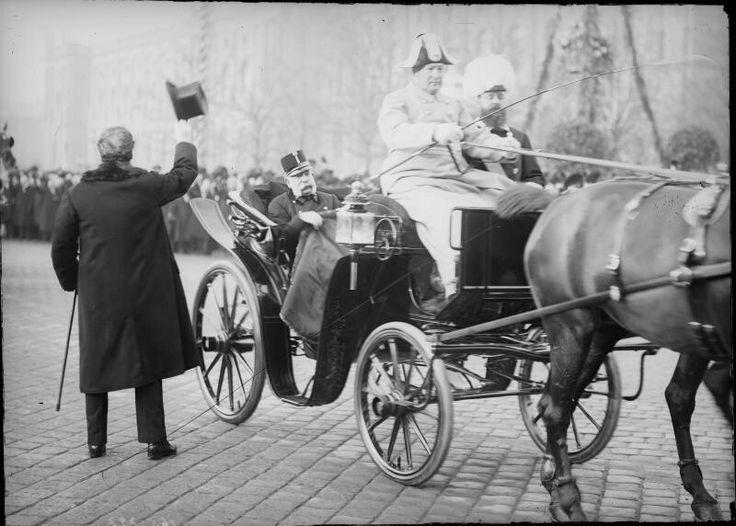 Franz Joseph, Dr Karl Lueger Burgtor Vienna