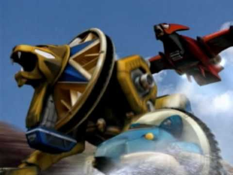 Power Rangers Ninja Storm MegaZord (PC)