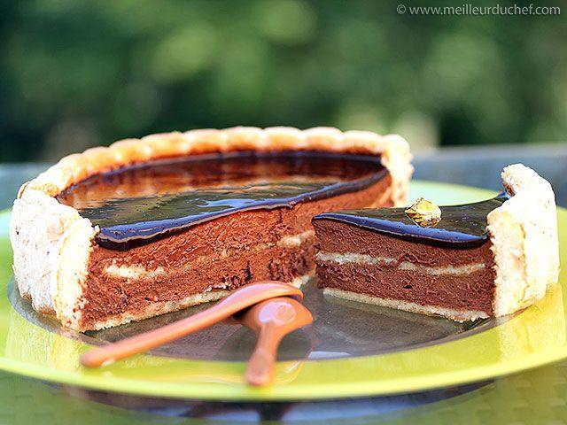 Charlotte au chocolat noir - Meilleur du Chef