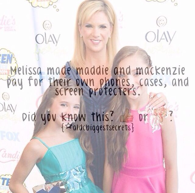 Dance Moms facts spam! (These are not made by me) I love that!