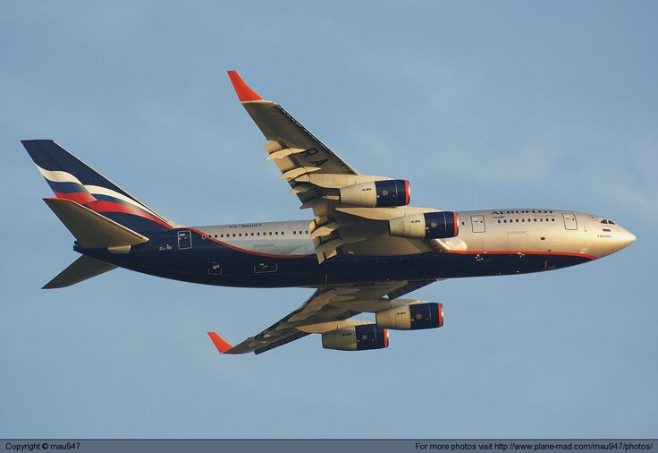 Aeroflot - Russian Airlines Ilyushin Il-96 RA-96007 leaving London Heathrow
