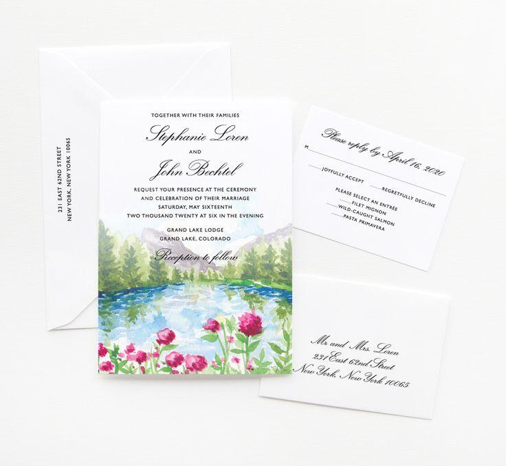 79 best wedding invitations images on Pinterest | Custom wedding ...