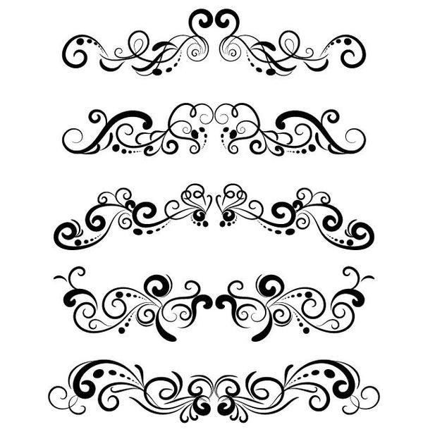 Decorazione Floreale Ornamento Progetto Vettoriale Decorazione Ornamentofloreale Vectors Ornament Design Vector Ornaments Design Ornament Decor
