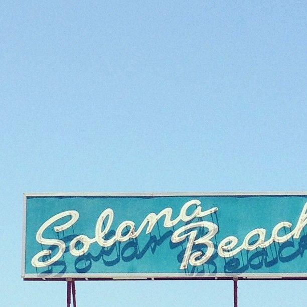 Solana Beach / Jonathan Lo: Beach Repin By Pinterest, Beach Signage, Beaches, Beach Elizabeth, Blue, Solana Beach, Beach Life