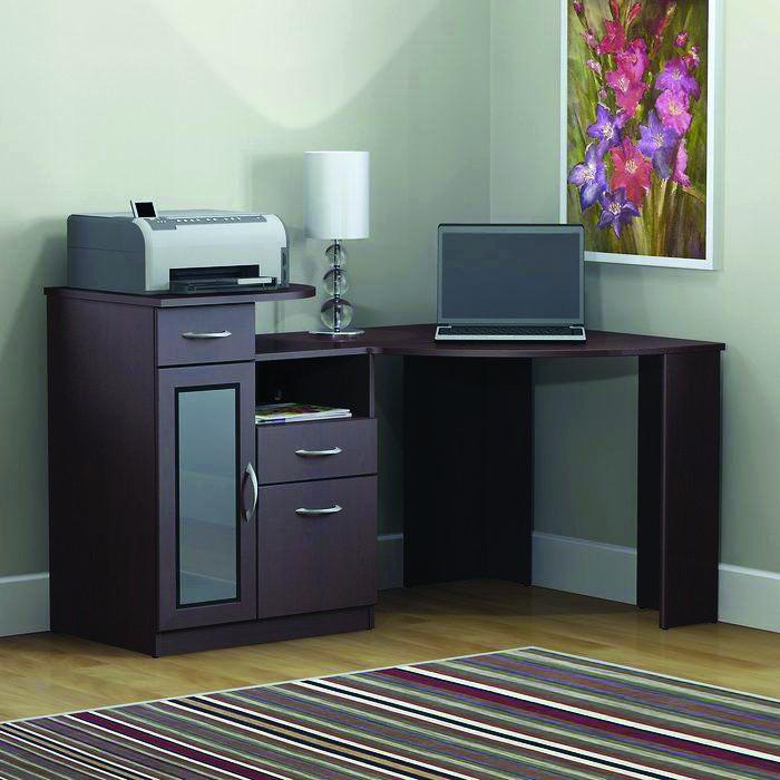 17 Diy Corner Desk Ideas To Build For Your Office Corner Writing Desk Black Corner Computer Desk Bush Furniture
