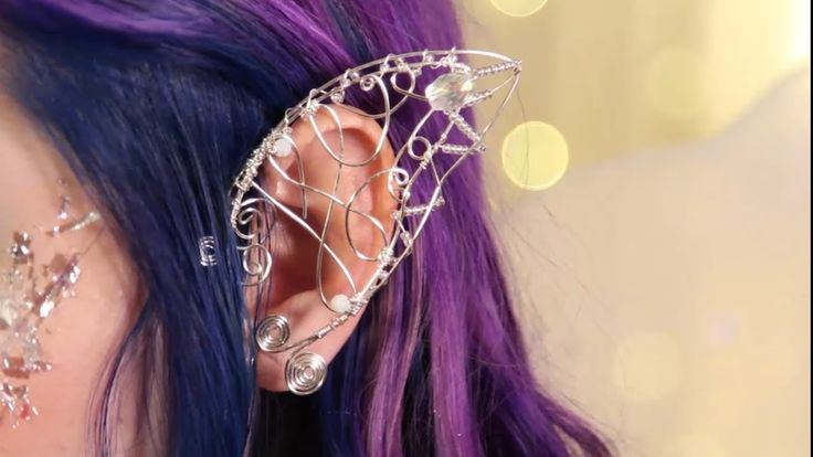 Today I show you how I made a fairy ear cuff! This magical accessory is adorable! LIKE and SHARE is you feel the magic in the air! Fairy Ear Cuff ♥ DIY Here ...