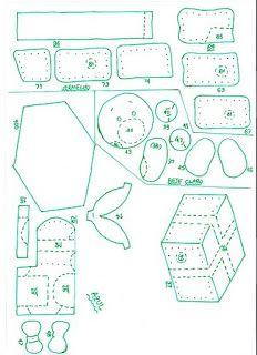Patron para realizar bota de Navidad  de Santa en la chimenea. Haz click en las imagines, aumentalas en la impresora e imprimelas al tamaño...