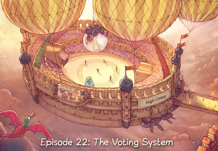 Episode 22: The Voting System #peppercarrot
