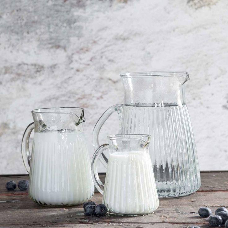 IB Laursen, glazen karaf met handvat,  1500 ml