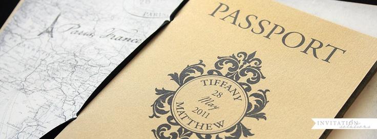 Passport invitation - útlevél meghívó