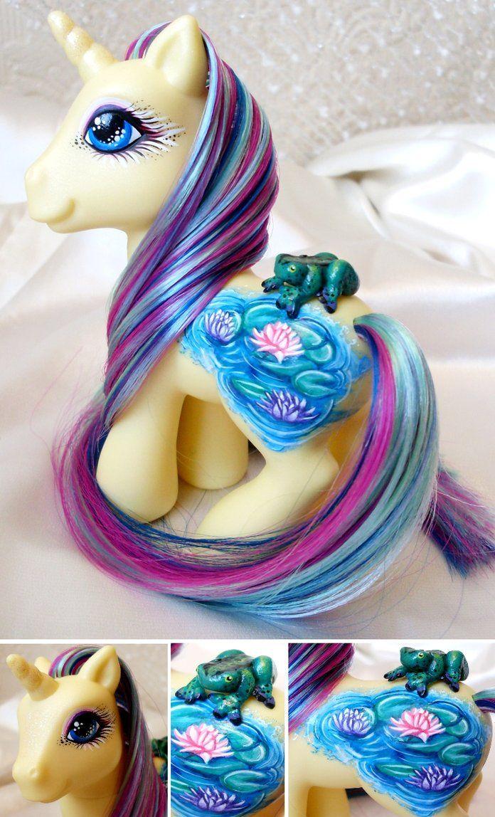 Custom My Little Pony Unicorn Lilly Leaper by customlpvalley