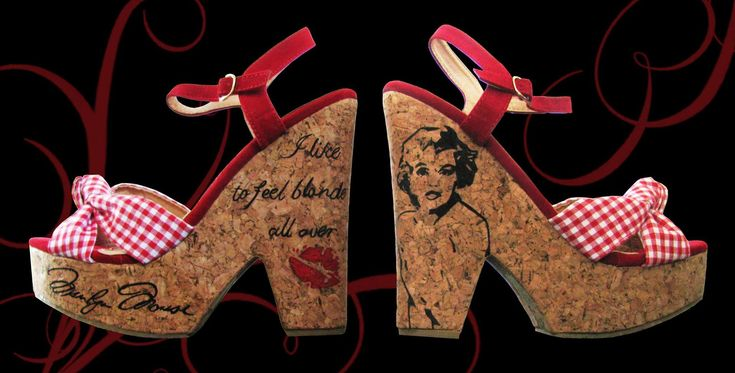 Wedge Heels - Marilyn Monroe