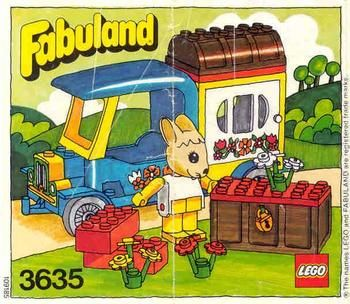 I always wanted Lego Fabuland as a child but alas it was not something we could afford.  Something about the whymsical contours of the little windows and doors and the little playful animals just makes me want to get down and play
