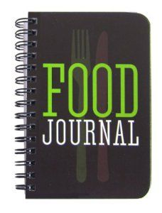 BookFactory Food Journal / Food Diary / Diet Journal Notebook, 120 pages - 3 1/2 x 5 1/4