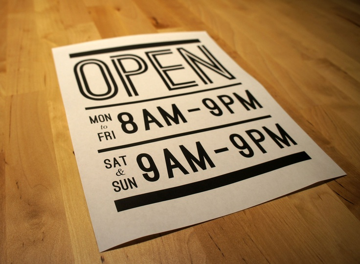 Vancouver Heights Market www.vancouverheightsmarket.com #sign #open #brand #identity #retail #bodega #convenience #store #branding #hours