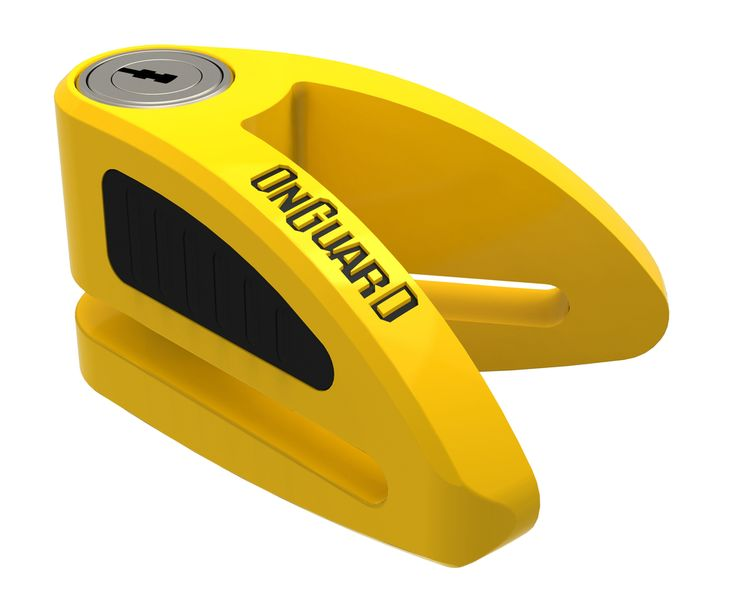 OnGuard BOXER STAPLER Style Disc Lock. *X4P Quattro Bolt Locking Mechanism**Z-CYL Technology**Touch Lock System*