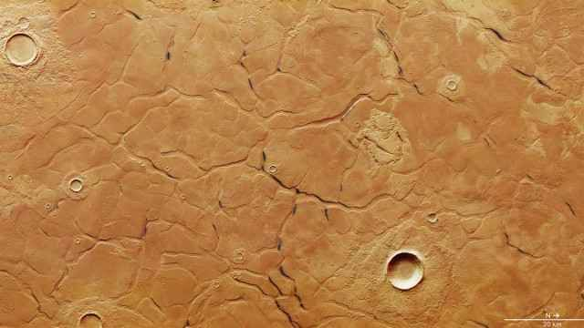 Le caratteristiche di Adamas Labyrinthus su Marte potrebbero essere tracce lasciate da un oceano primordiale Una fotografia di una sorta di labirinto che fa parte di una regione chiamata Adamas Labyrinthus su Marte scattata dalla sonda spaziale Mars Express è stata pubblicata dall'ESA. #marte #esa #marsexpress