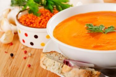 Crema di lenticchie e zucca Una ricetta semplice, nutriente ed economica!