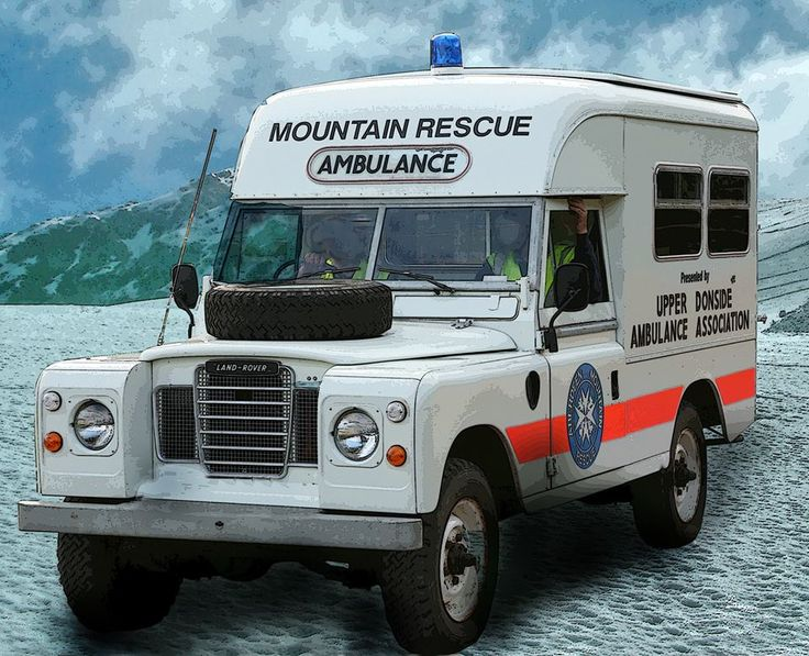 Series Mountain Rescue Ambulance