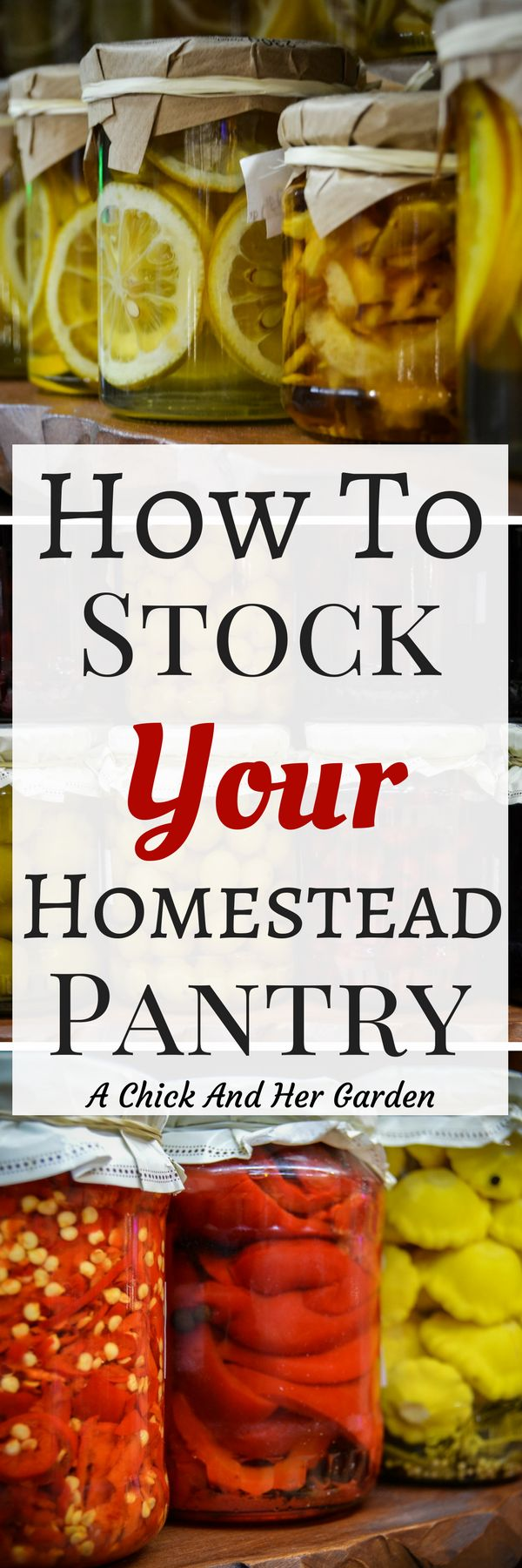 So true!  Every family has different needs!  These tips are great to customize your garden and pantry!  #foodpreservation #homesteading #homesteadpantry #canning #preserving #gardening #foodstorage