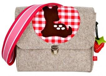 Kindergartentasche aus Merinofilz 'Kitz' von la fraise rouge