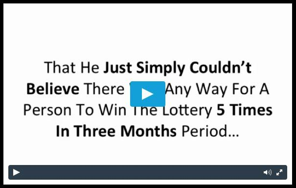 How Richard Lustig Won The Lottery 7 Times In The Last 2 Years...