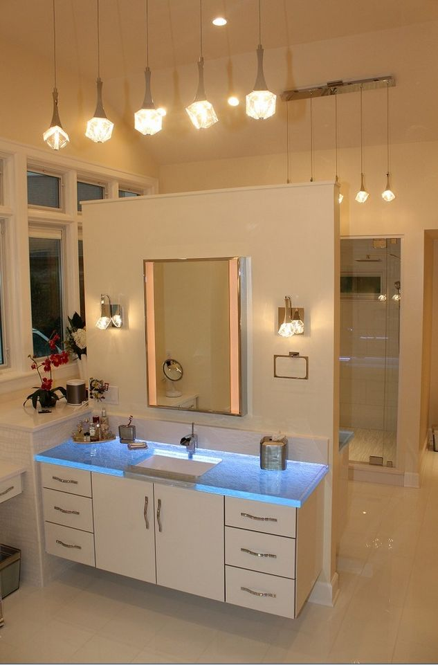 Best Glamorous Bathrooms Images On Pinterest Bathrooms