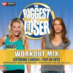 Music: The biggest loser workout mix. extreme cardio, top 40 hits