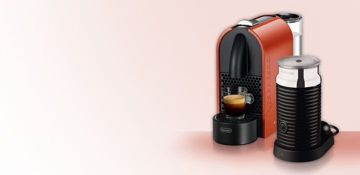 The Nespresso DeLonghi U Capsule machine has a range of innovative features that are sure to impress!