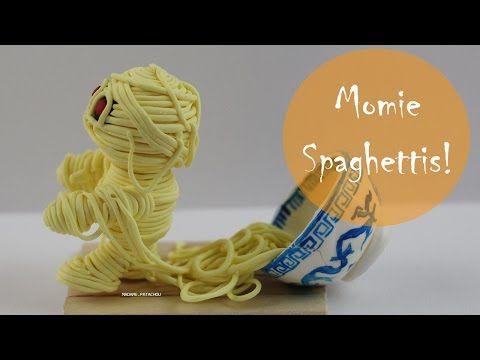 Halloween: Momie Spaghettis - YouTube - madame patachou