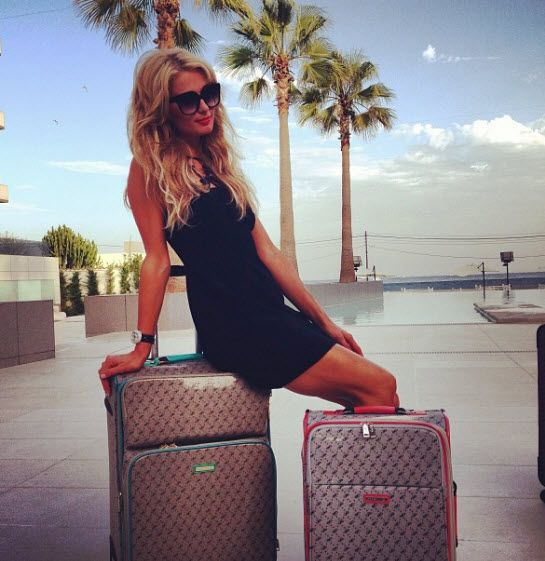 Paris Hilton reveals her new luggage set from her SS14 Collection. Do you want to travel with #PHpurses? We Think you will LOVE it!