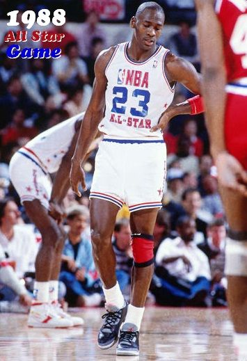0d7cb8cbbf1 MJ 1988 All Star Game | Michael Jordan | Jordans, Mike jordan ...