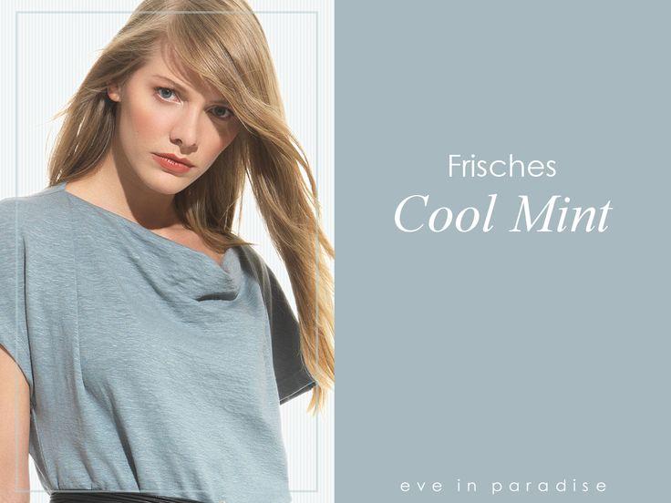 Jetzt die vermutlich letzten ☼Strahlen des #Sommers einfangen, am besten in einem #Outfit in der #Trendfarbe Cool Mint! Einen schönen #Sommertag!