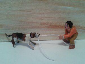le chien,la corde & l'enfant