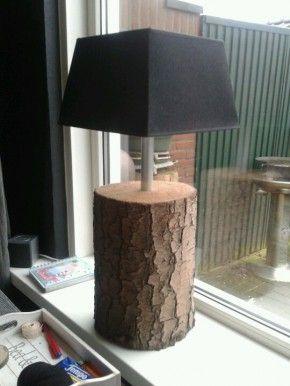 En een dikke korte boomstam