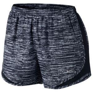 Nike Tempo Shorts - Women's - Black/White/Black/Matte Silver