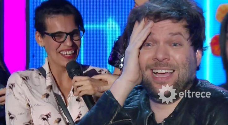 ¡No te podés reír así! Guido Kaczka presentó la risa más contagiosa. Mirá el video