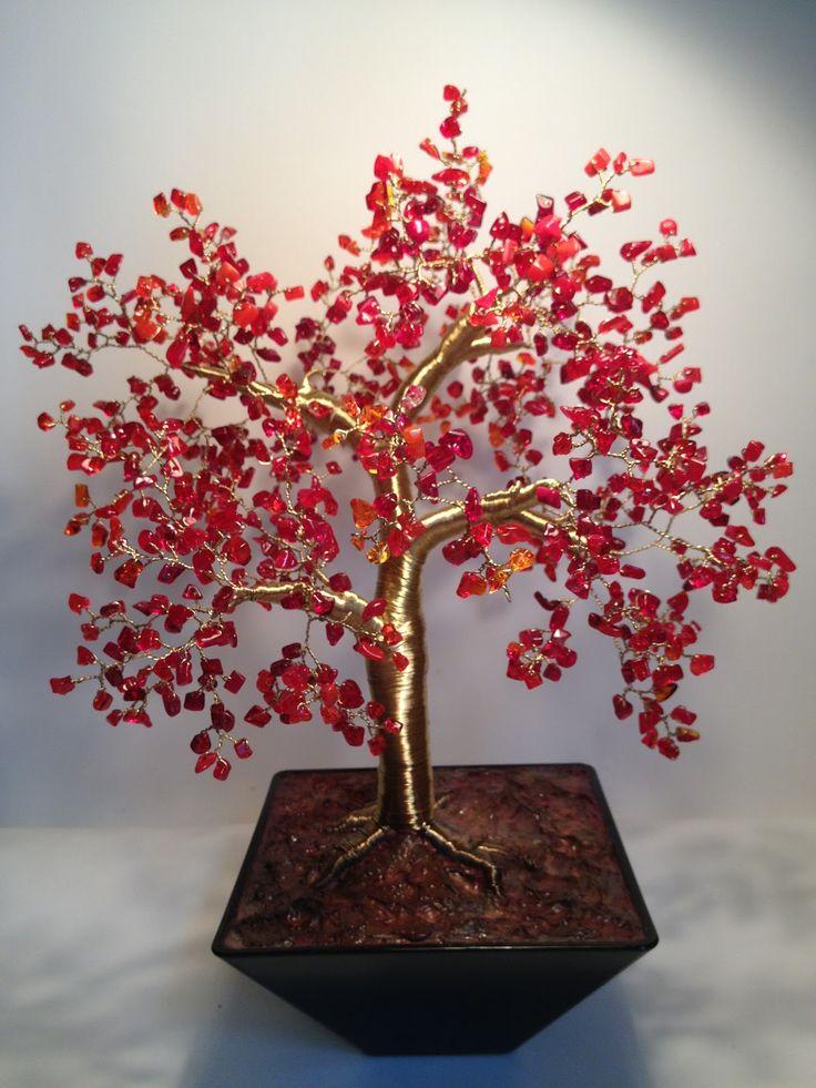 Arboles de alambre de cobre buscar con google - Como se adorna un arbol de navidad ...