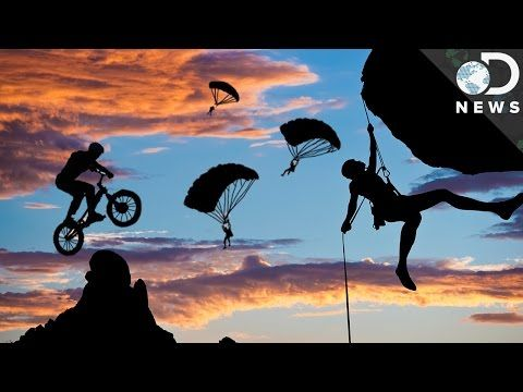 Why Are We Addicted To Extreme Sports? - YouTube
