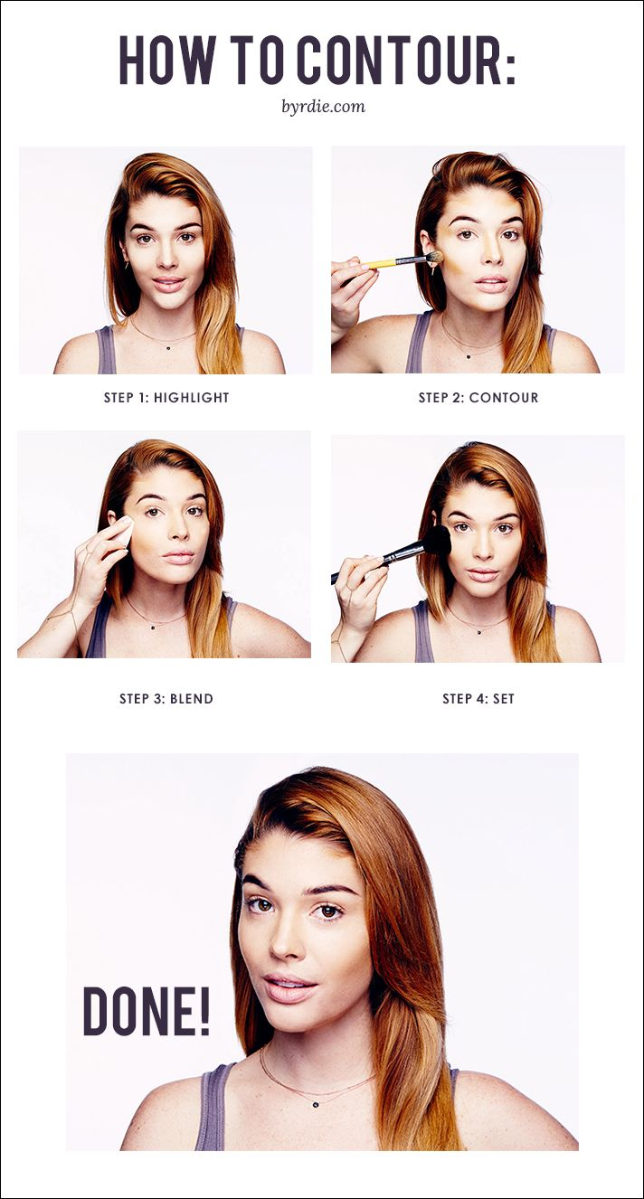An easy how-to guide to contouring from celebrity makeup artist Lauren Andersen.