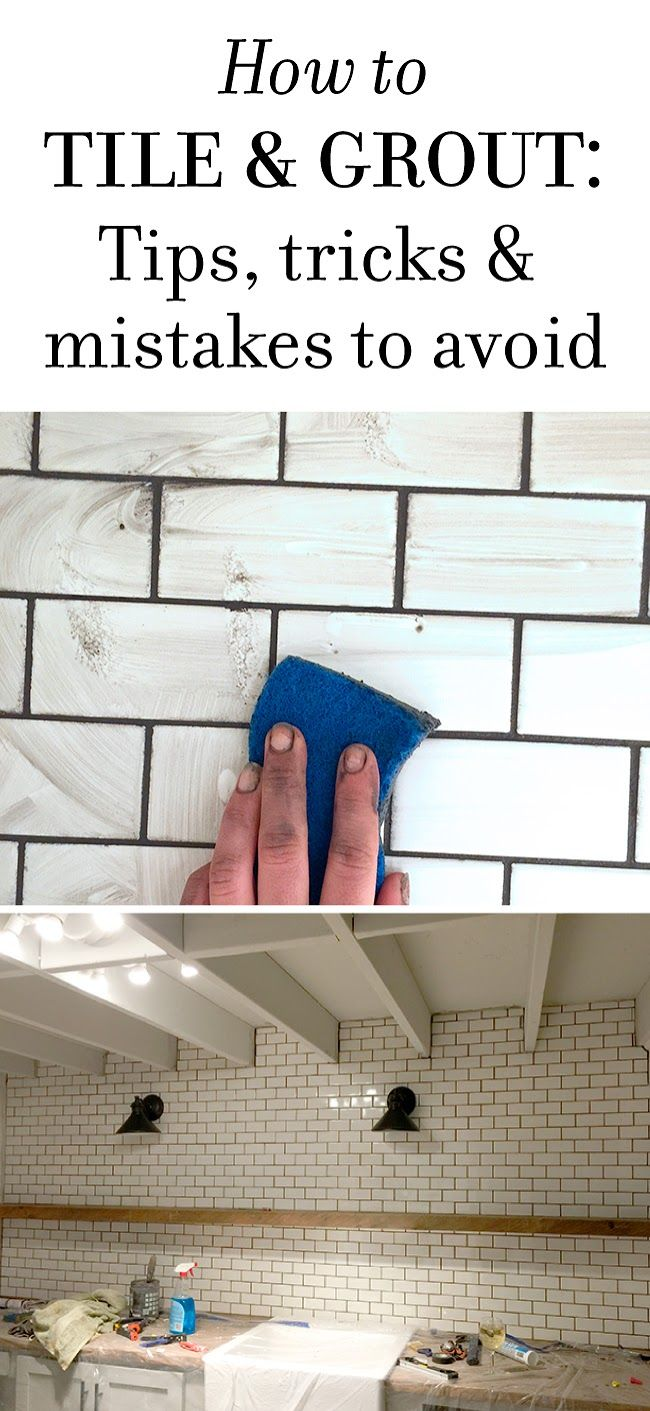 New Laundry Room: Subway Tile & Grout – Tips & Tricks | Jenna Sue Design Blog