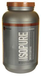 Isopure Protein Powder with Coffee - Colombian.  GF & no xanthan gum