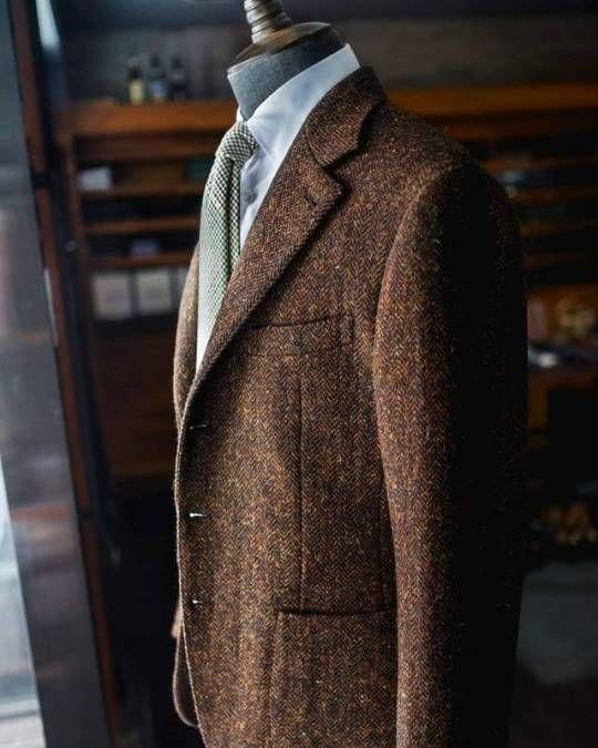 Manolo del Toyro - #HollandSherry #HarrisTweed #Jacket #tailormade #sartorial #sprezzatura #mensfashion #gentleman #Tailoring #bespoke #rolex #mexico #Tailoring #week-end #chmanfashion (à Château de Sceaux)