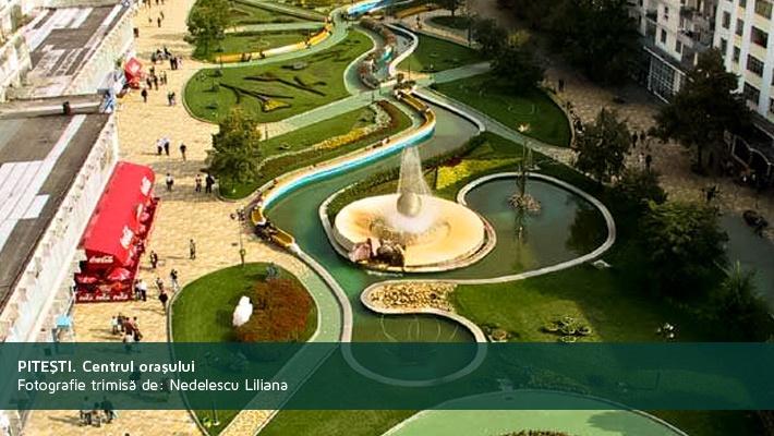 Pitesti. Centrul orasuluiPoza trimisa de catre Nedelescu Liliana  28 de poze frumoase cu orase din Romania (partea 2).  Vezi mai multe poze pe www.ghiduri-turistice.info