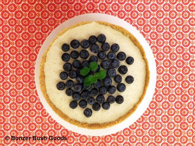 Lemon Myrtle Cheesecake