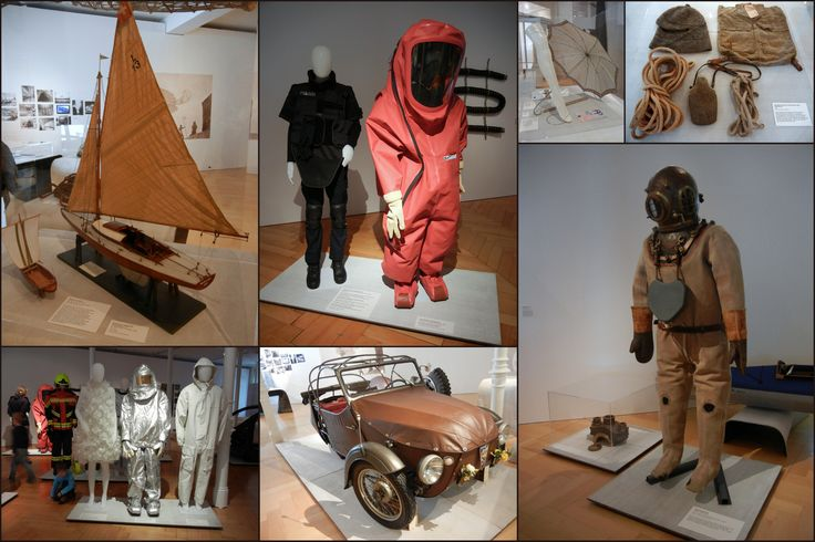 Sankt Gallen, Textilní muzeum, výstava Neue stoffe, 2017