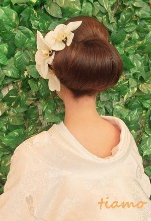 白無垢からウエディングドレスへ大変身の素敵な一日♡ の画像|大人可愛いブライダルヘアメイク『tiamo』の結婚カタログ