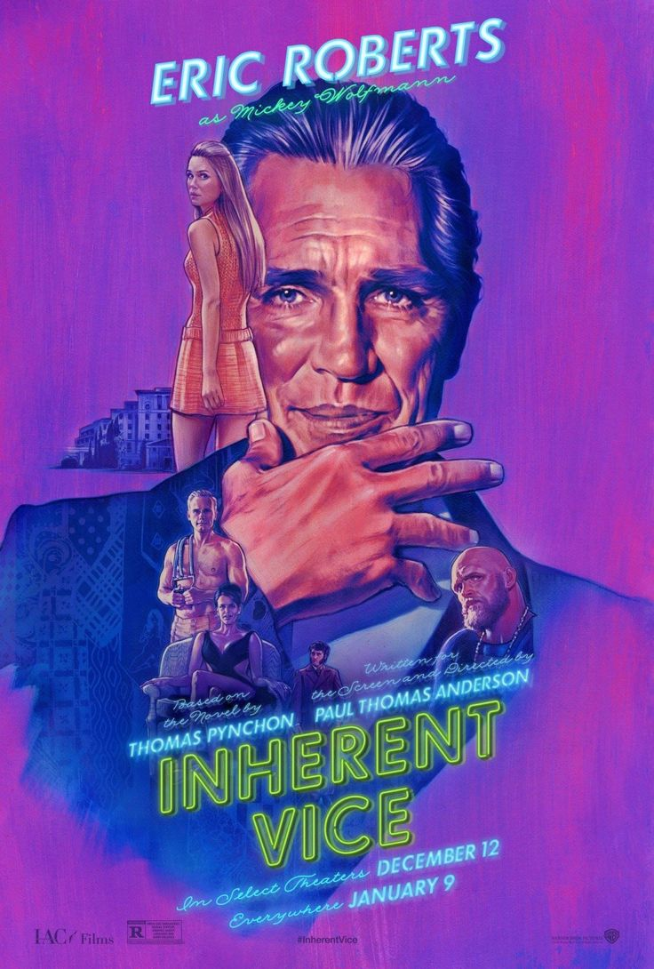 Inherent Vice - 2014 - Movie Poster - Eric Roberts