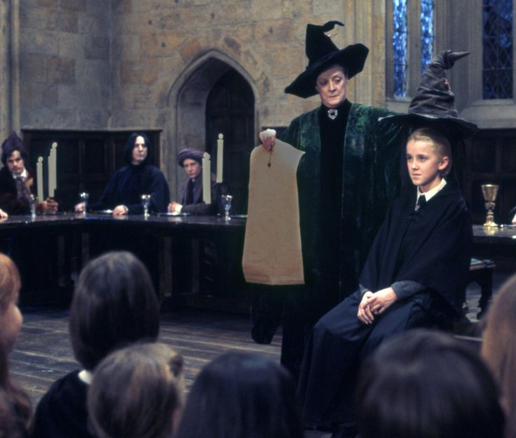 Or perhaps in Slytherin you'll make your real friends, those cunning folk use any means to achieve their ends